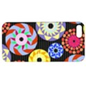 Colorful Retro Circular Pattern Apple iPhone 5 Hardshell Case with Stand View1
