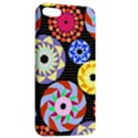 Colorful Retro Circular Pattern Apple iPhone 5 Hardshell Case with Stand View2