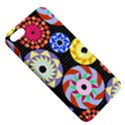 Colorful Retro Circular Pattern Apple iPhone 5 Hardshell Case with Stand View5