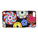 Colorful Retro Circular Pattern Apple iPod Touch 5 Hardshell Case with Stand View1