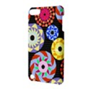 Colorful Retro Circular Pattern Apple iPod Touch 5 Hardshell Case with Stand View3