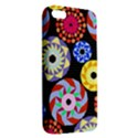 Colorful Retro Circular Pattern Apple iPhone 5 Premium Hardshell Case View2