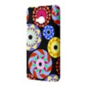 Colorful Retro Circular Pattern HTC One M7 Hardshell Case View3