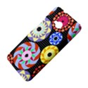 Colorful Retro Circular Pattern HTC One M7 Hardshell Case View4
