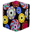 Colorful Retro Circular Pattern Samsung Galaxy Tab 10.1  P7500 Flip Case View4