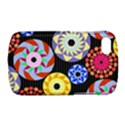 Colorful Retro Circular Pattern BlackBerry Q10 View1