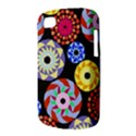 Colorful Retro Circular Pattern BlackBerry Q10 View3