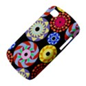Colorful Retro Circular Pattern BlackBerry Q10 View4