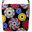Colorful Retro Circular Pattern Flap Covers (S)  View1