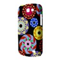 Colorful Retro Circular Pattern Samsung Galaxy Express I8730 Hardshell Case  View3