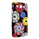 Colorful Retro Circular Pattern Samsung Galaxy Mega 5.8 I9152 Hardshell Case  View2