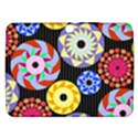 Colorful Retro Circular Pattern Samsung Galaxy Tab 3 (10.1 ) P5200 Hardshell Case  View1