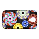 Colorful Retro Circular Pattern Samsung Galaxy S4 Classic Hardshell Case (PC+Silicone) View1