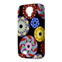 Colorful Retro Circular Pattern Samsung Galaxy S4 Classic Hardshell Case (PC+Silicone) View3