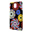Colorful Retro Circular Pattern Samsung Galaxy Note 3 N9005 Hardshell Case View3