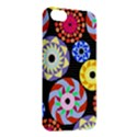 Colorful Retro Circular Pattern Apple iPhone 5C Hardshell Case View2