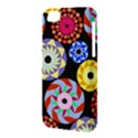 Colorful Retro Circular Pattern Apple iPhone 5C Hardshell Case View3