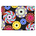 Colorful Retro Circular Pattern iPad Air Hardshell Cases View1