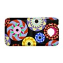 Colorful Retro Circular Pattern HTC Desire 601 Hardshell Case View1