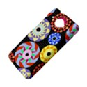 Colorful Retro Circular Pattern HTC Desire 601 Hardshell Case View4