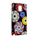 Colorful Retro Circular Pattern Samsung Galaxy Note 4 Hardshell Case View3