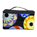 Colorful Retro Circular Pattern Cosmetic Storage Case View1