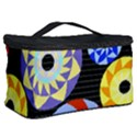 Colorful Retro Circular Pattern Cosmetic Storage Case View2
