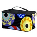 Colorful Retro Circular Pattern Cosmetic Storage Case View3