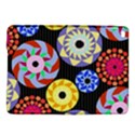 Colorful Retro Circular Pattern iPad Air 2 Hardshell Cases View1
