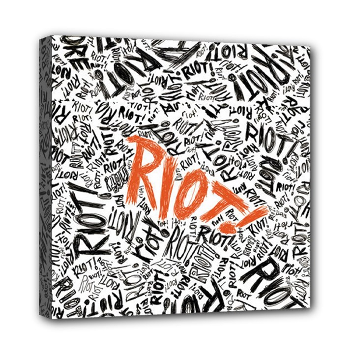 Paramore Is An American Rock Band Mini Canvas 8  x 8