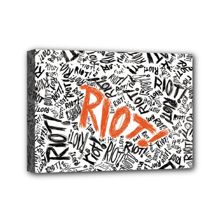 Paramore Is An American Rock Band Mini Canvas 7  x 5