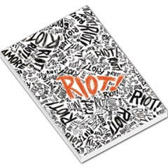 Paramore Is An American Rock Band Large Memo Pads