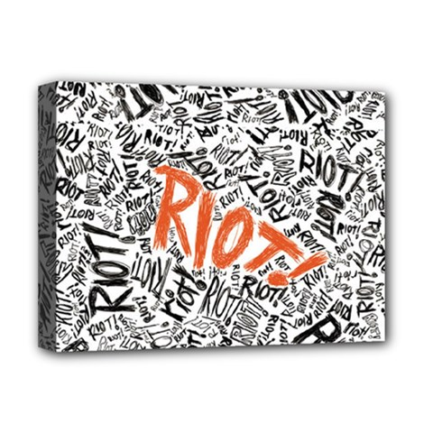 Paramore Is An American Rock Band Deluxe Canvas 16  X 12