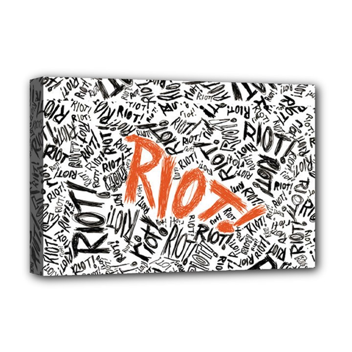 Paramore Is An American Rock Band Deluxe Canvas 18  x 12
