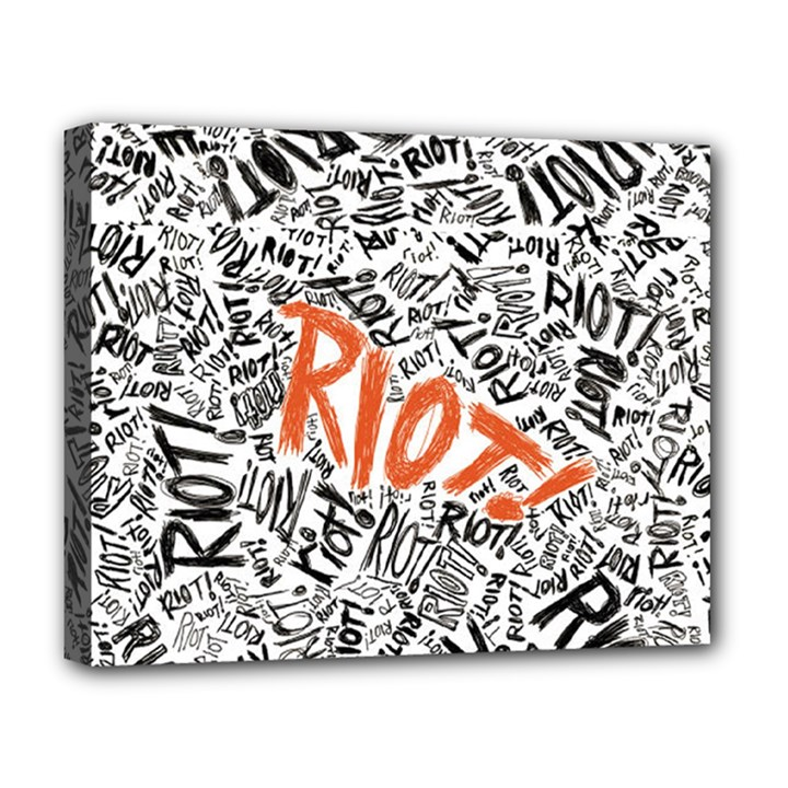 Paramore Is An American Rock Band Deluxe Canvas 20  x 16
