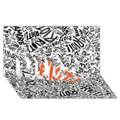 Paramore Is An American Rock Band Hugs 3d Greeting Card (8x4)