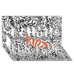 Paramore Is An American Rock Band Laugh Live Love 3D Greeting Card (8x4)