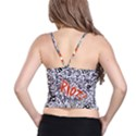 Paramore Is An American Rock Band Spaghetti Strap Bra Top View2