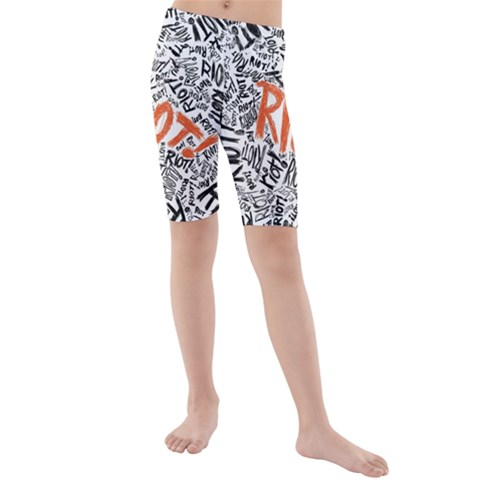 Paramore Is An American Rock Band Kids  Mid Length Swim Shorts