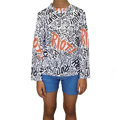 Paramore Is An American Rock Band Kids  Long Sleeve Swimwear