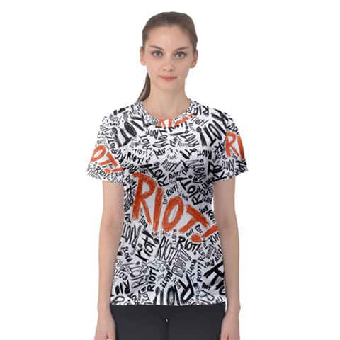 Paramore Is An American Rock Band Women s Sport Mesh Tee