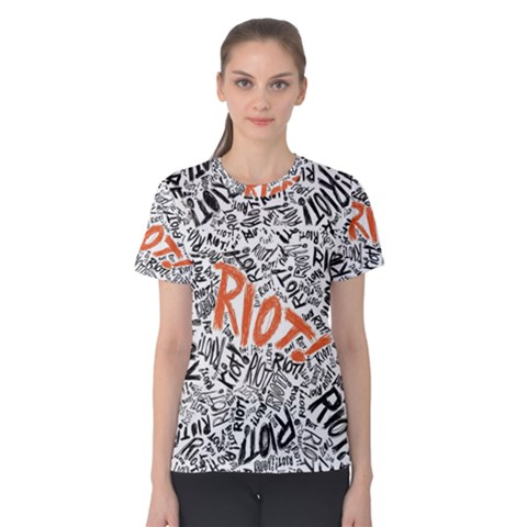 Paramore Is An American Rock Band Women s Cotton Tee