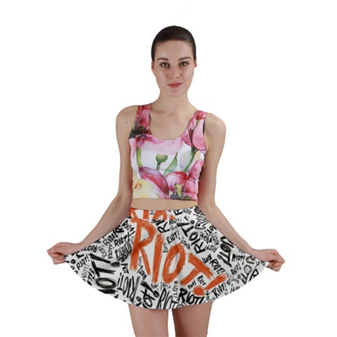 Paramore Is An American Rock Band Mini Skirt