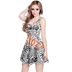 Paramore Is An American Rock Band Reversible Sleeveless Dress