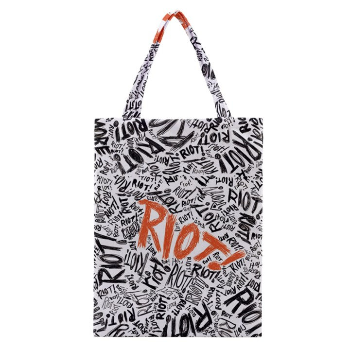 Paramore Is An American Rock Band Classic Tote Bag