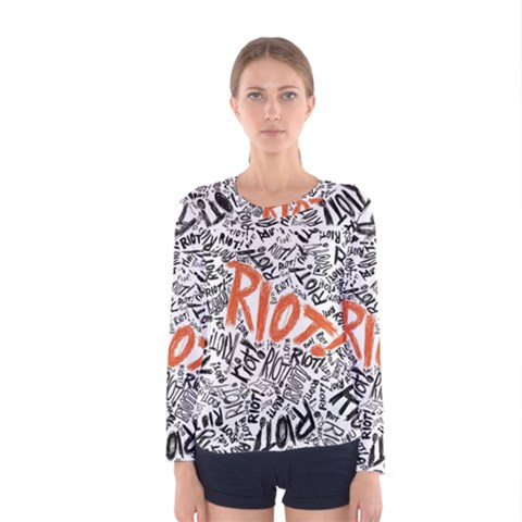 Paramore Is An American Rock Band Women s Long Sleeve Tee