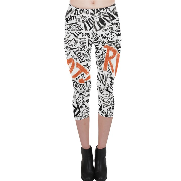 Paramore Is An American Rock Band Capri Leggings