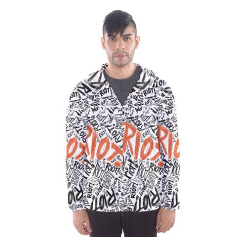 Paramore Is An American Rock Band Hooded Wind Breaker (Men)