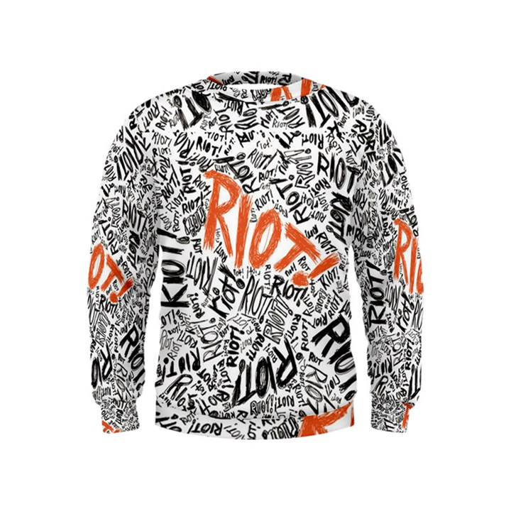 Paramore Is An American Rock Band Kids  Sweatshirt