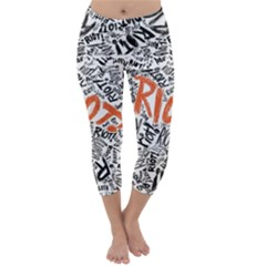 Paramore Is An American Rock Band Capri Winter Leggings
